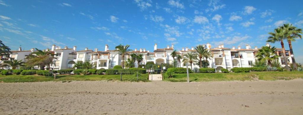 Exterior from beach