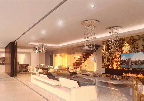 Gorgeous living area