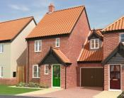 new house for sale in Copsey Walk, Dereham...