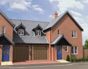 new home in Copsey Walk, Dereham...