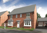 4 bed new home in Wigan Road, Chorley, PR25