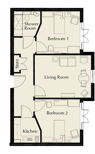 Suite 7 Floorplan