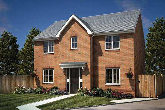 Barley Fields - new build homes in Tividale