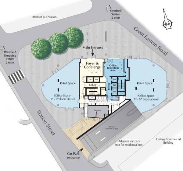 westfield stratford ground floor plan stratford home plans