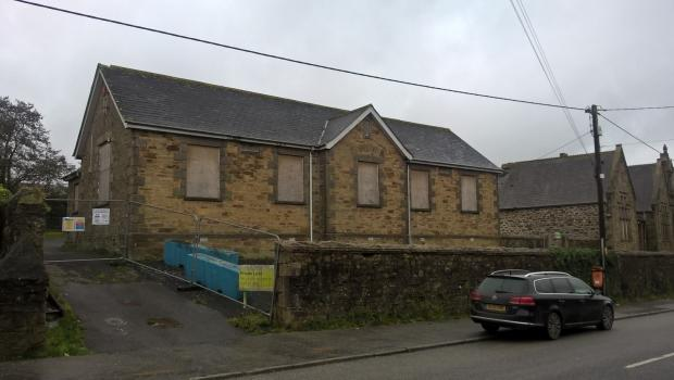 Land For Sale In The Old School Church Road Pool Redruth Cornwall Tr15 Tr15