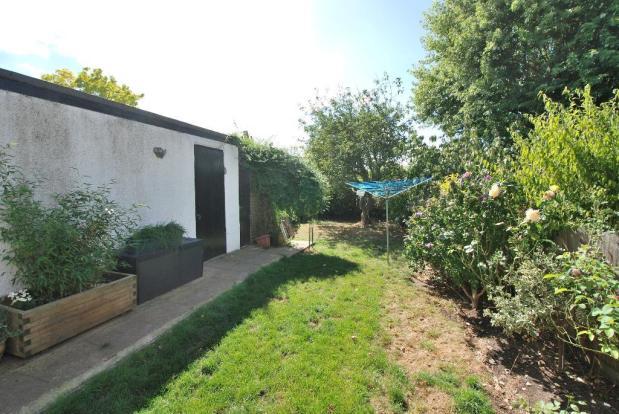 Generous Rear Garden & Garage