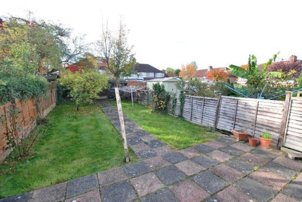 Southerly Facing Garden