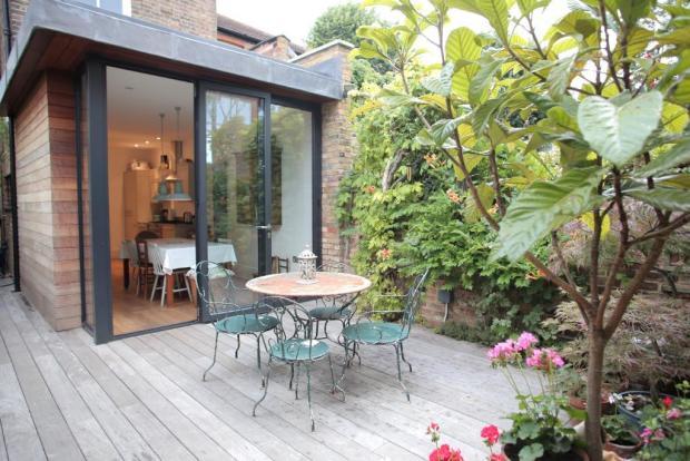 Timber Deck Patio Area