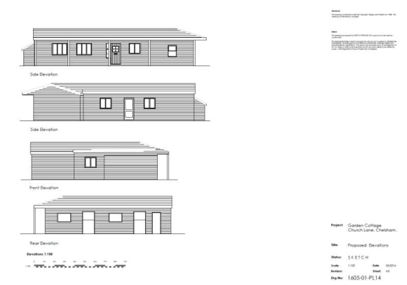 GC Proposed Elevations