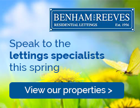 Get brand editions for Benham & Reeves Lettings, Ealing