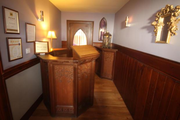 Entrance Pulpit