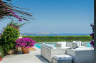 Swimming pool sun terrace Villa Cassedda Porto Cervo Sardinia