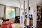 Bedroom exposed wood floor Postel-Vinay Paris