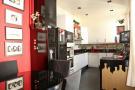 Modern kitchen with appliances stone floor Etoile Avenue President Wilson Paris