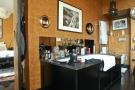 En-suite bathroom marble sink Etoile Avenue President Wilson Paris