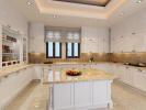 Kitchen island marble Venus Rock Golf Resort Imperial Residences Cyprus