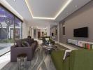 Living room sliding doors full height Venus Rock Golf Resort Imperial Residences Cyprus