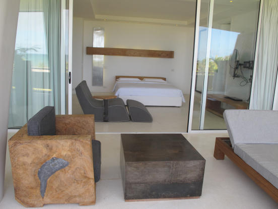 Outdoor area patio sliding doors bedroom Billionaire Resort Kenya