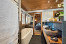 Master bathroom at Chalet Vermont in Verbier