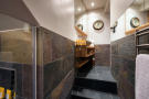 Guest bathroom with shower at Chalet Vermont in Verbier