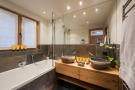 Guest bathroom at Chalet Vermont in Verbier