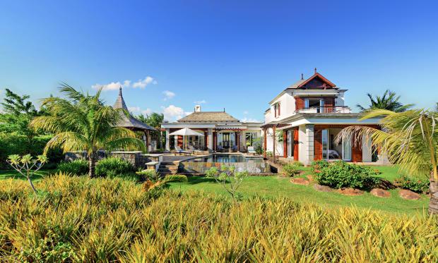 Facade Villas Valriche Mauritius