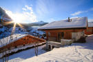 Facade view Chalet Im Maad Verbier