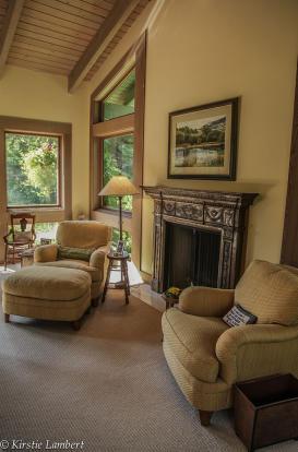 Bedroom fireplace EE-DA-HO Ranch Arizona