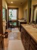 Bathroom twin sink tiled floor EE-DA-HO Ranch Arizona