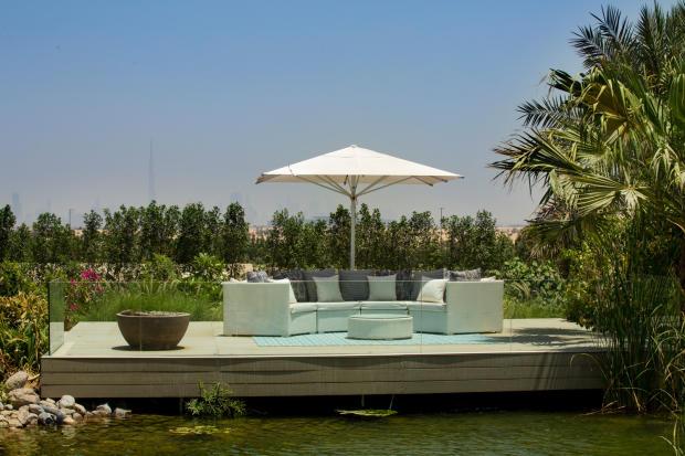 Garden decking Ashjar Al Barari Dubai