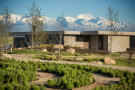 Garden facade mountains Vines of Mendoza Resort Villas Argentina