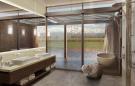 Bathroom stone shower bath tub Vines of Mendoza Resort Villas Argentina