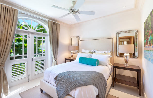 Bedroom french doors balcony Port Ferdinand Barbados