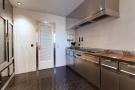 Kitchen stainless steel The Penthouse Av de Pau Casals Barcelona