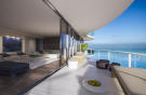 Penthouse living room balcony sliding doors Regalia Miami Florida