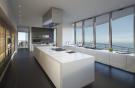 Large kitchen stone floor island Regalia Miami Florida
