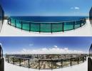Panoramic coast ocean sea view Regalia Miami Florida