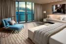 Master bedroom balcony doors sea ocean view Regalia Miami Florida