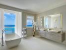 Bathroom twin sink bath tub Villa Bonita Barbados