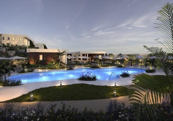 Exterior swimming pool Westmoreland Hills Barbados