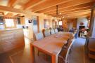 Dining room living open plan Chalet Idée Fixe Champoussin Champéry