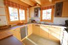 Kitchen tiled floor Chalet Idée Fixe Champoussin Champéry