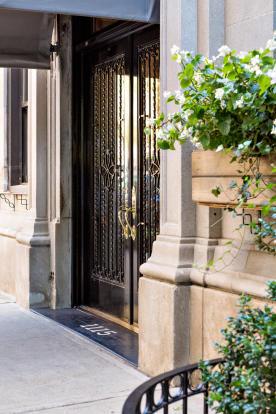 Entrance Fifth Avenue New York