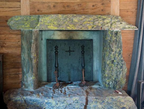Fireplace Chalet Masson Verbier