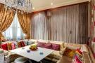 Living room chandelier modern Etoile Marceau Paris