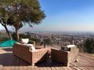 Sun terrace view Villa Paula Zona Alta Barcelona
