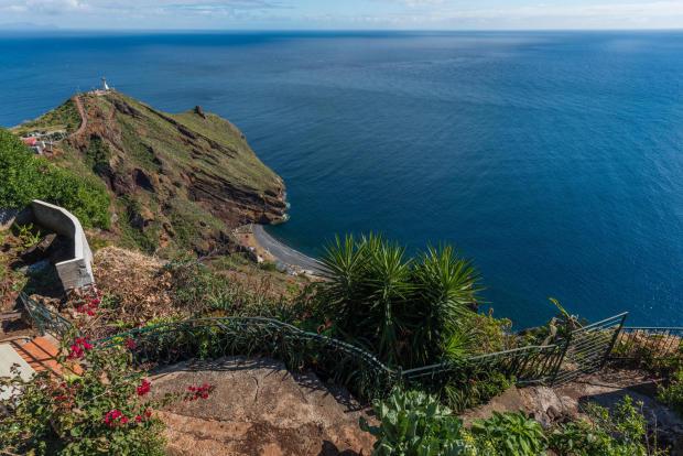 View ocean sea Villa Aquarela Madeira Portugal