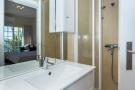 Bathroom ensuite shower stone Villa Aquarela Madeira Portugal