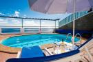 Swimming pool sun ocean view Villa Aquarela Madeira Portugal