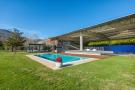 Swimming pool facade Finca Mia Vall d'en Bas Girona